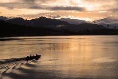 восход солнца неба Стоковое Изображение RF