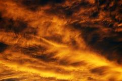 восход солнца неба Стоковая Фотография