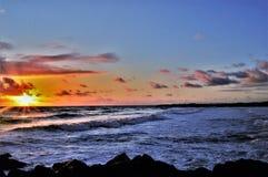 Восход солнца одежды из твида стоковые фотографии rf
