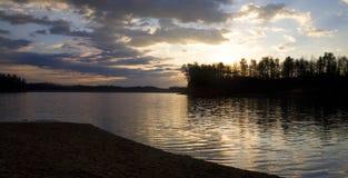 восход солнца озера james Стоковая Фотография RF