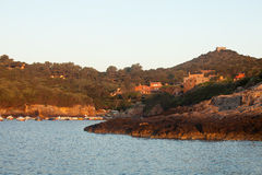 восход солнца острова giannutri Стоковое фото RF