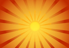 восход солнца предпосылки иллюстрация штока