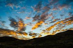 восход солнца раннего утра Стоковые Изображения RF