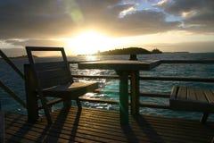 восход солнца рая Стоковая Фотография