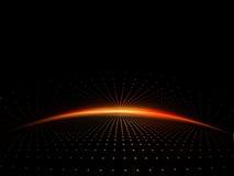 восход солнца решетки Стоковое фото RF