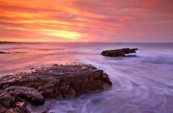 восход солнца рта kei Стоковая Фотография