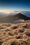 восход солнца Сиккима 3 гор Стоковое Изображение