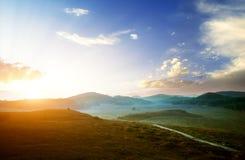 восход солнца состава Стоковое фото RF