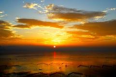 восход солнца утра Стоковые Изображения RF