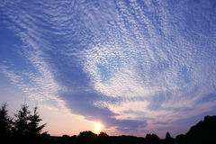 восход солнца стоковые изображения rf