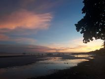 Восход солнца bohol Panglao Стоковое Изображение RF