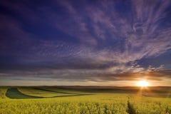 восход солнца canonla Стоковая Фотография RF