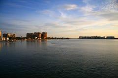 восход солнца clearwater 2 пляжей Стоковые Фотографии RF
