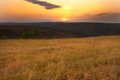 Восход солнца Divcibare Стоковое Изображение RF