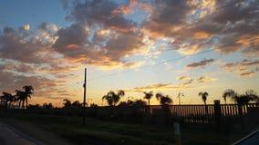Восход солнца Eldorado делает Sul стоковая фотография rf
