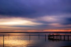 восход солнца james Стоковые Фото