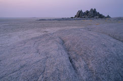 восход солнца kubu острова Стоковые Фото