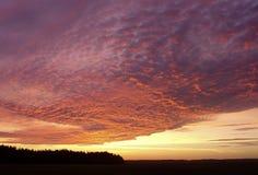 восход солнца lac Крита Стоковая Фотография RF