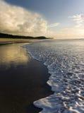 восход солнца noosa пляжа Стоковые Фото