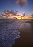 восход солнца pacific lanikai Гавайских островов пляжа стоковые фотографии rf