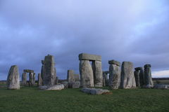 восход солнца stonehenge Стоковые Изображения RF