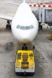 восхождение на борт авиапорта Стоковые Фото