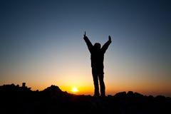 восход солнца встречи Стоковая Фотография RF