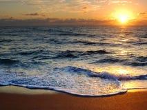 восход солнца в феврале Стоковые Изображения RF