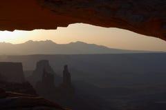восход солнца мезы свода Стоковое Фото