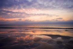 восход солнца florida Стоковые Изображения