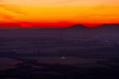 Восход солнца Арканзаса стоковое фото