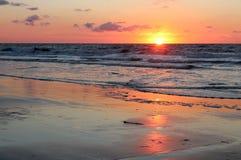 Восход солнца Атлантического океана Стоковое Изображение
