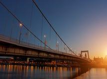 Восход солнца Будапешта Стоковое Изображение