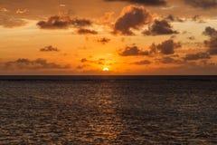Восход солнца взморья Стоковое фото RF