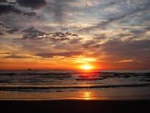 Восход солнца восточного побережья стоковое изображение