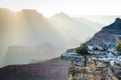 Восход солнца в гранд-каньоне, Аризоне, США Стоковая Фотография RF