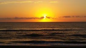 Восход солнца в наружных банках Стоковые Фотографии RF