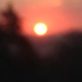 Восход солнца в Остине, Техасе Стоковое Фото