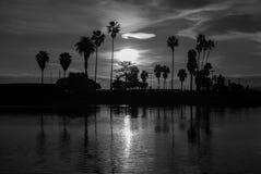 Восход солнца в Сан-Диего Стоковое фото RF