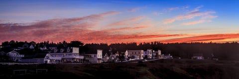 Восход солнца в северной калифорния Стоковые Изображения