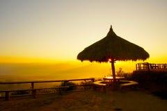 Восход солнца в утре стоковое изображение rf