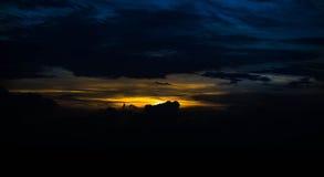 Восход солнца в утре Стоковые Изображения