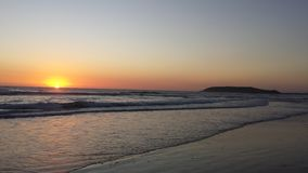 Восход солнца в январе Стоковое Изображение RF