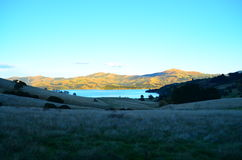 Восход солнца в Akaroa Стоковые Фотографии RF
