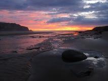 Восход солнца в Catlins Стоковые Фото