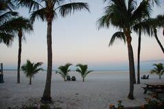 Восход солнца в Fort Myers Стоковые Фотографии RF