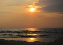 Восход солнца в Gulf of Thailand 4 Стоковые Фотографии RF