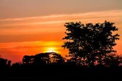 Восход солнца в Kronburi Стоковые Фото