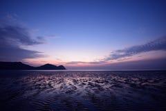 Восход солнца в Mersing Стоковое Изображение