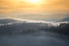 Восход солнца в morrning Стоковая Фотография